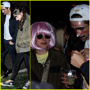 Kristen Stewart & Robert Pattinson: Halloween Party Pair!