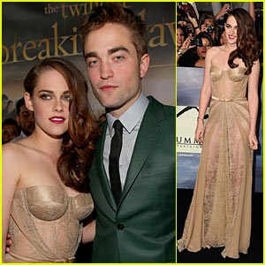 Kristen Stewart & Robert Pattinson: 'Twilight' Breaking Dawn Part 2 Premiere!