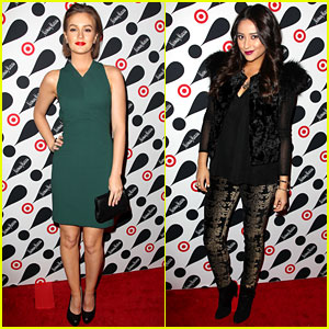 Leighton Meester & Shay Mitchell: Target Twosome!