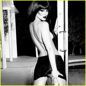 Leighton Meester: Topless for 'Flaunt' Magazine!