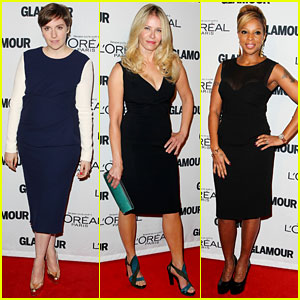 Lena Dunham: Glamour's Women of the Year Awards!