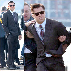 Leonardo DiCaprio: Arrested for 'Wolf of Wall Street'!