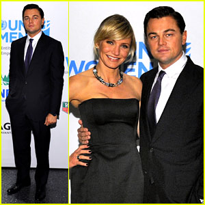 Leonardo DiCaprio: TAG Heuer Event with Cameron Diaz!