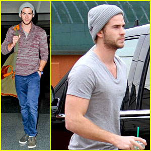 Liam Hemsworth Flies the Skies Solo in Los Angeles