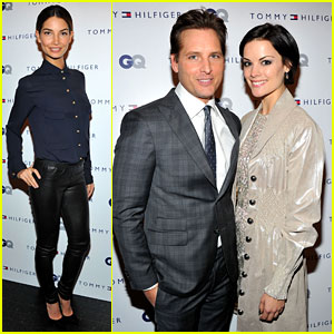 Lily Aldridge &#038; Peter Facinelli: Men of New York Party!