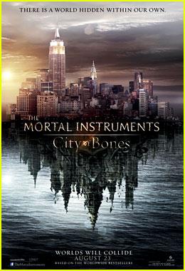 Lily Collins: 'Mortal Instruments: City of Bones' Trailer!