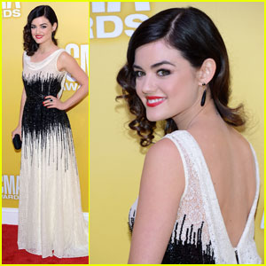 Lucy Hale & Scotty McCreery - CMA Awards 2012 Red Carpet