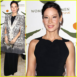 Lucy Liu: Women For Women International Award Winner!
