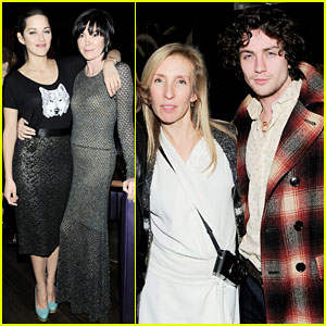 Marion Cotillard & Aaron Taylor-Johnson: 'Killing Them Softly' After Party!