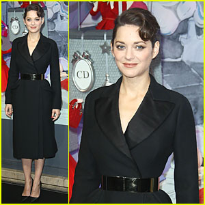 Marion Cotillard: Christmas Illuminations Launch!