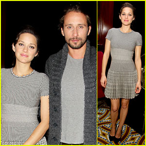 Marion Cotillard: 'Rust & Bone' Lunch with Matthias Schoenaerts!