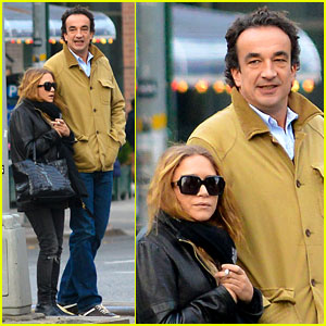 Mary-Kate Olsen & OIivier Sarkozy: East Village Lunch Date!