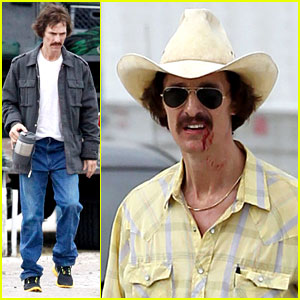 Matthew McConaughey: Bloody Mustache on Set