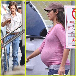 Matthew McConaughey & Camila Alves: 'Dallas Buyers Club' Set Visit!