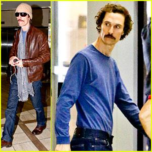 Matthew McConaughey: Super Skinny LAX Departure!