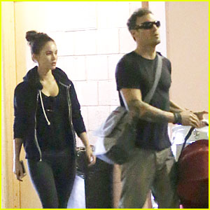 Megan Fox & Brian Austin Green: Checkup with Baby Noah!