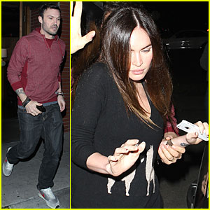 Megan Fox & Brian Austin Green: Post-Baby Jar Outing!