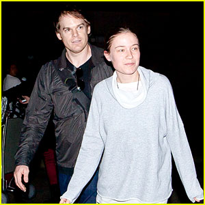Michael C. Hall & Morgan Macgregor: LAX Arrival
