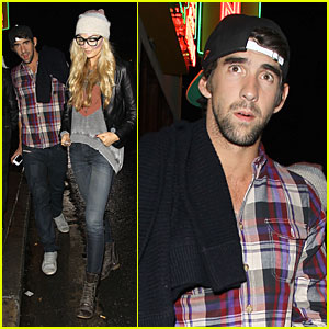 Michael Phelps & Megan Rossee: Sayers Club Date!
