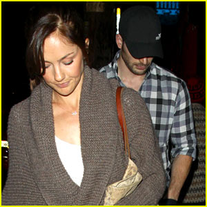 Minka Kelly & Chris Evans: SushiStop Dinner Date!