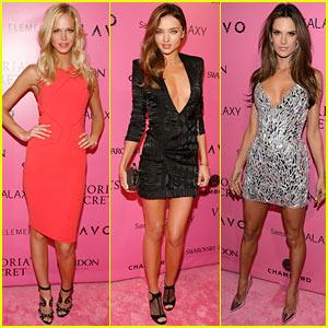 Miranda Kerr & Erin Heatherton: Victoria's Secret Fashion Show After Party!