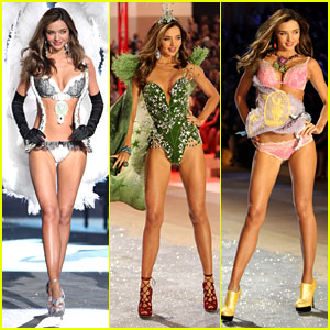 as she walks the runway at the 2012 Victoria's Secret Fashion Show
