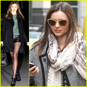 Miranda Kerr: Big Apple Fancy Night Out!