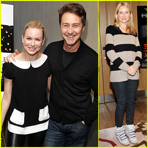 Naomi Watts & Edward Norton: 'The Impossible' Screening!