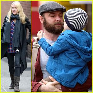 Naomi Watts: Family 'Fading Gigolo' Set Visit!