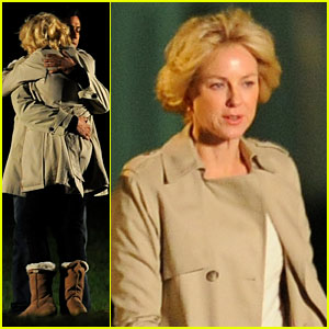 Naomi Watts: Princess Diana Hug with Naveen Andrews!