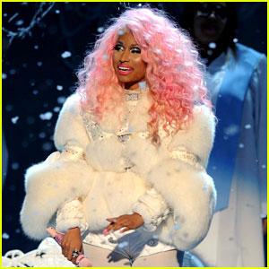 Nicki Minaj: 'Freedom' Performance at AMAs - Watch Now!