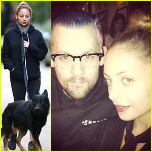Nicole Richie: Chilly Dog Walk with Iro!