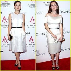 Olivia Wilde & Julianne Moore: ACE Awards in New York City!