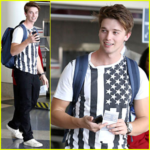 Patrick Schwarzenegger: Miami for the Weekend!
