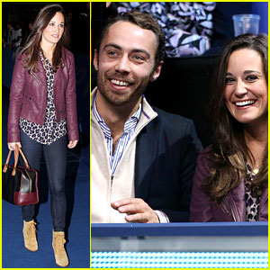 Pippa Middleton: ATP World Tour with Brother James!