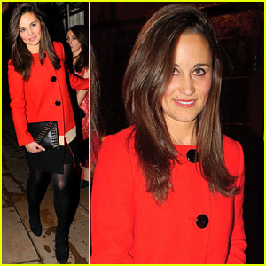 Pippa Middleton: Lady in Red!