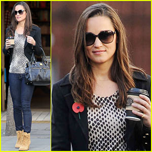 Pippa Middleton: Surprise Charity Shopper with Duchess Kate!