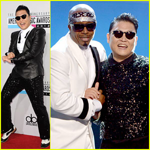 Psy: 'Gangnam Style' with MC Hammer at AMAs 2012!