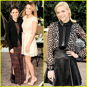 Rachel Bilson & Jaime King: ShoeMint Celebration Brunch!