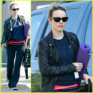Rachel McAdams: Pre-Thanksgiving Yoga Class!