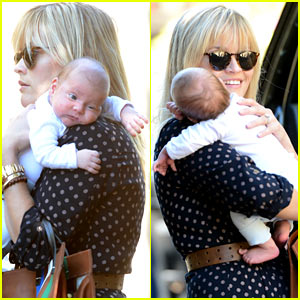 Reese Witherspoon & Baby Tennessee: Los Angeles Outing!