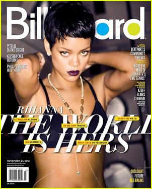 Rihanna: 'Billboard' Magazine's Bikini Cover Girl!