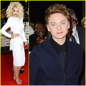Rita Ora & Conor Maynard: MOBO Awards!
