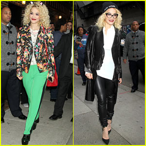 Rita Ora: 'Late Show with David Letterman' Guest!