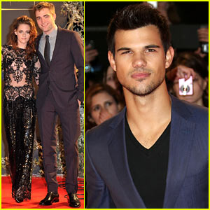 Robert Pattinson & Kristen Stewart: 'Twilight Breaking Dawn Part 2' UK Premiere!