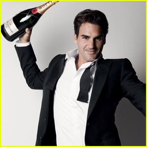 Roger Federer: Moet & Chandon Global Brand Ambassador!