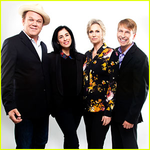 Sarah Silverman & Jane Lynch: 'Wreck-It Ralph' Cast Portraits! (Exclusive)
