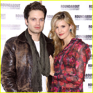 Sebastian Stan & Maggie Grace: 'Picnic' Photo Call!