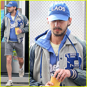 Shia LaBeouf: Cutoff Short Shorts in Hollywood!