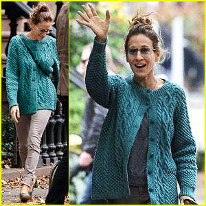 Sarah Jessica Parker: Still Smiling After Sandy!